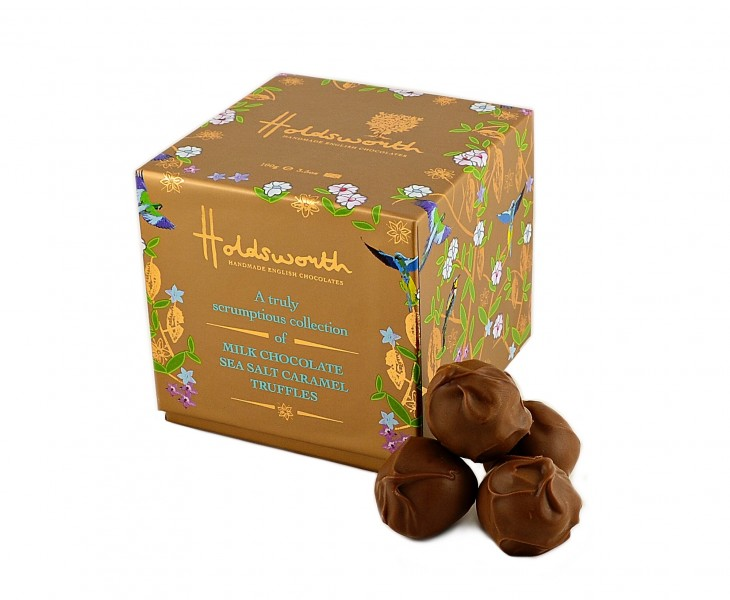 TS Salted Caramel Truffle Cube (100g)