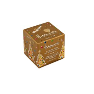 Dark Chocolate Christmas Pudding Truffle Cube 55g