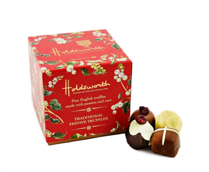 Snowberry Cube with chocolates